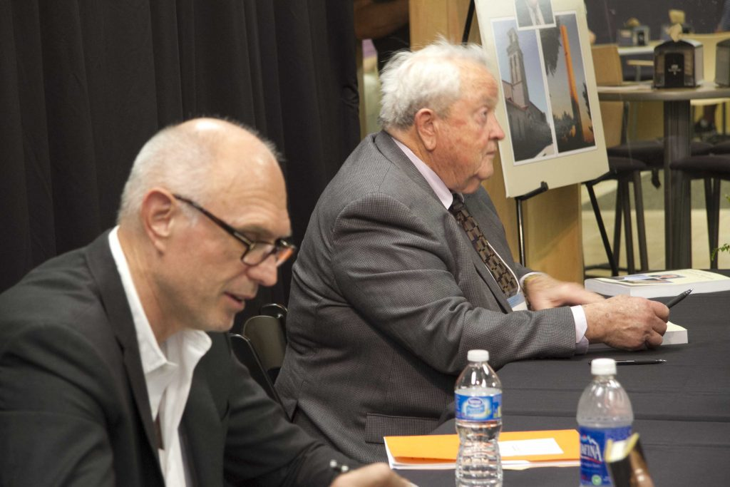 2012 Olbricht and Volf book signing
